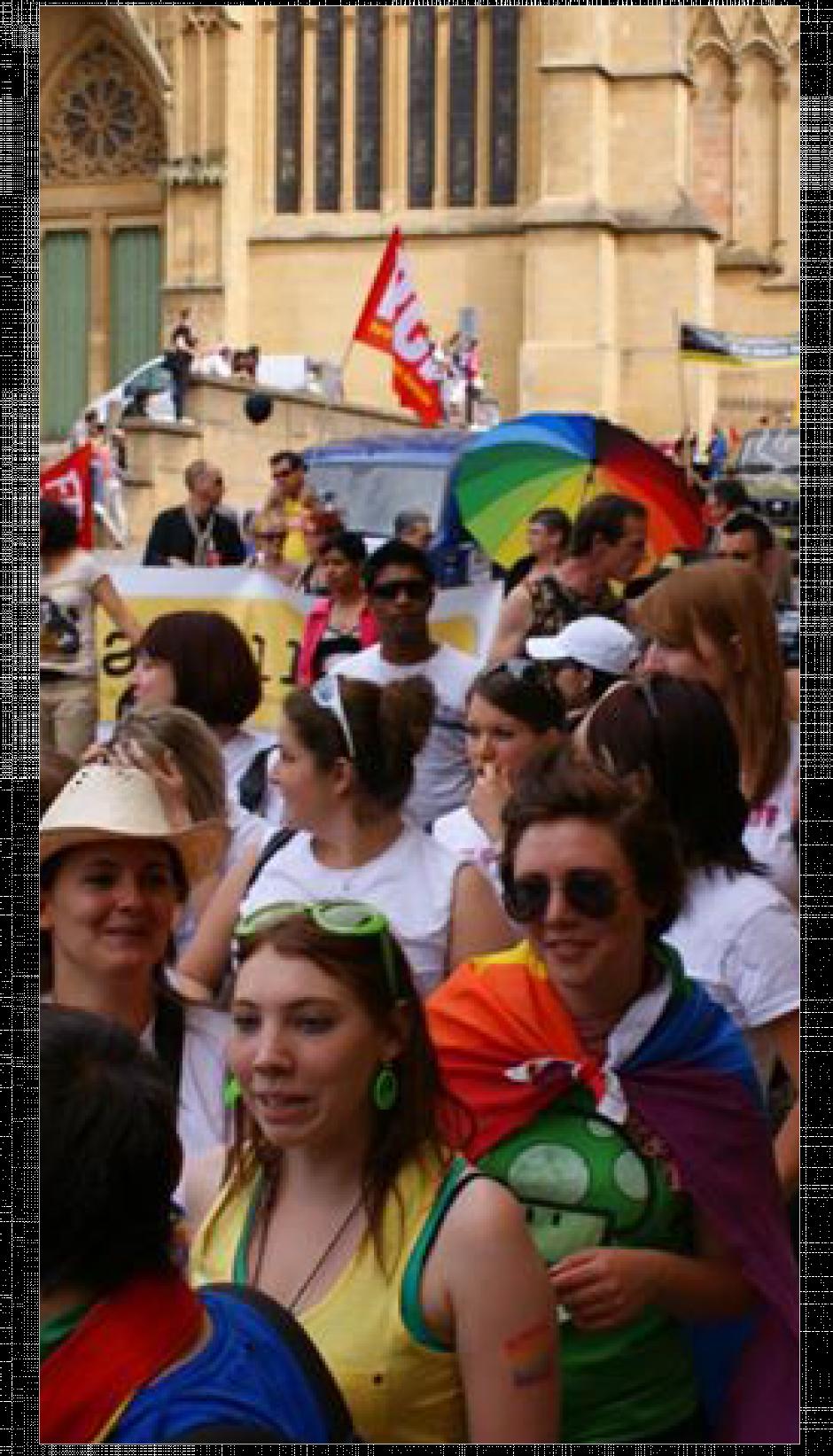 Une marche pour la tolérance et pour l'égalité des droits
